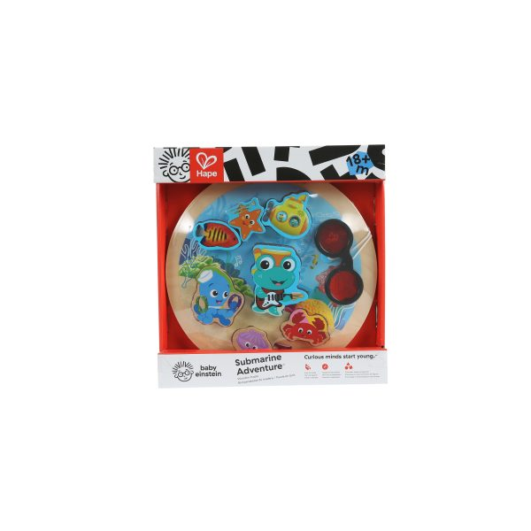 Submarine Adventure - Underwater Discovery Puzzle - puzzel - houten speelgoed - hout - zee - dieren - zeedieren - speelgoed - houten speelgoed - dn houten tol - de mouthoeve - winkel - boekel - baby einstein