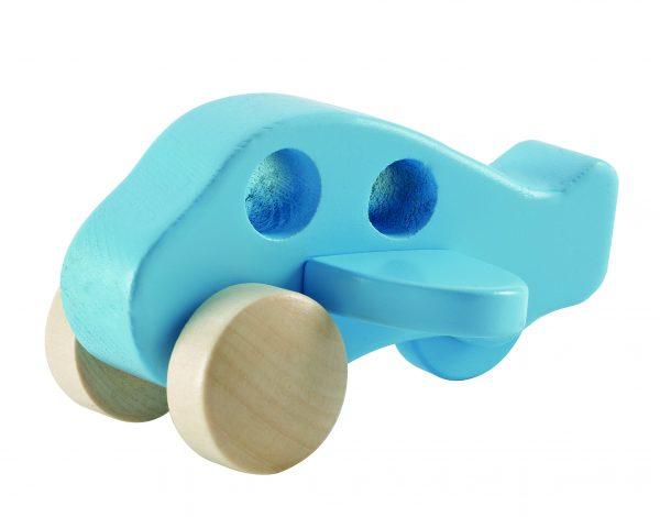 Houten vliegtuig - hout - vliegtuig - houten speelgoed - speelgoed - vliegtuig - dn houten tol - de mouthoeve - boekel - hape - baby - peuter