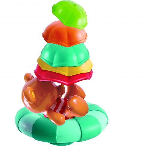 teddy's umbrella stackers - kunststof - spellegoed - bad -water - buitenspeelgoed - badspeelgoed - dnhoutentol - mouthoeve - boekel - hape