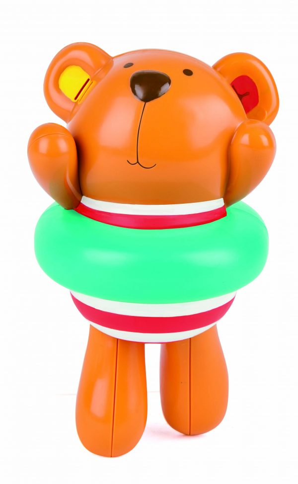 swimmer teddy wind-up toy - speelgoed - kunststof - bad - water - buitenspeelgoed - dn houten to - mouthoeve - boekel - hape