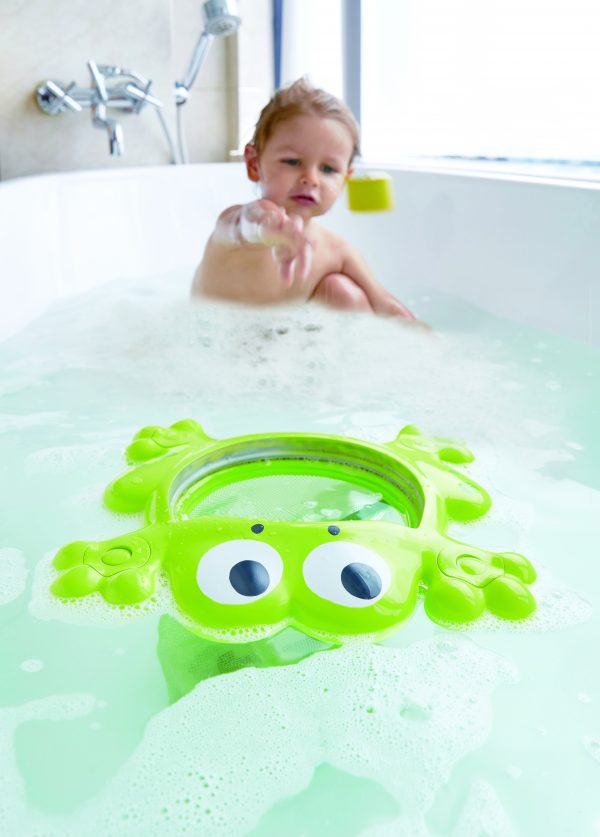 feed me bath frog - kunststof - speelgoed - badspeelgoed - buitenspeelgoed - bad - water - dn houten tol - de mouthoeve - boekel - winkel - hape