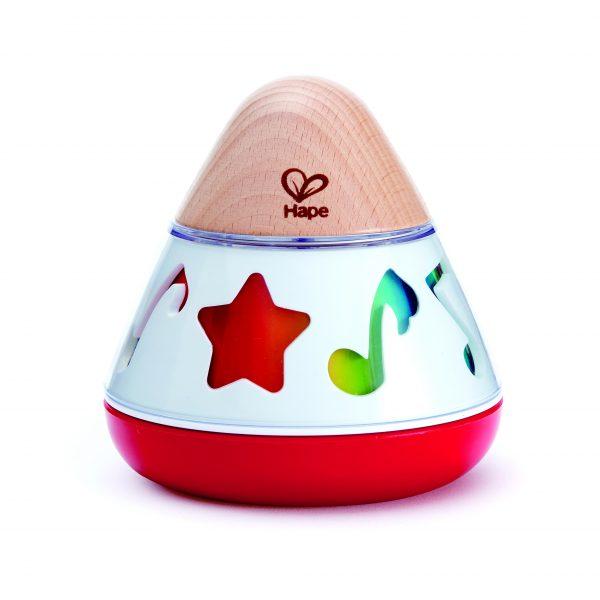 muziekdoos - baby - peuter - muziek - hout - kunststof - speelgoed - houten speelgoed - dn houten tol - de mouthoeve - boekel - hape