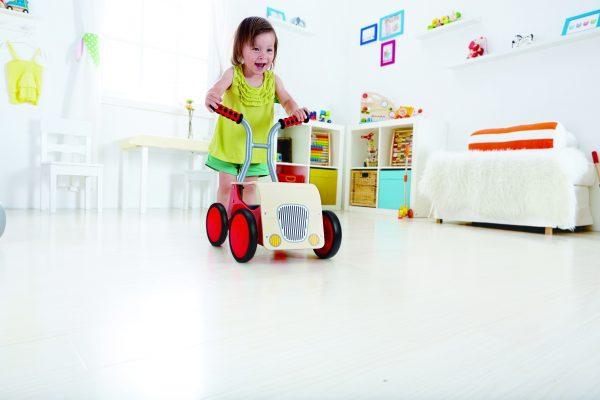 little red rider - loopwagen - loopfiets - speelgoed - houten speelgoed - hout - dn houten tol - mouthoeve - boekel - hape