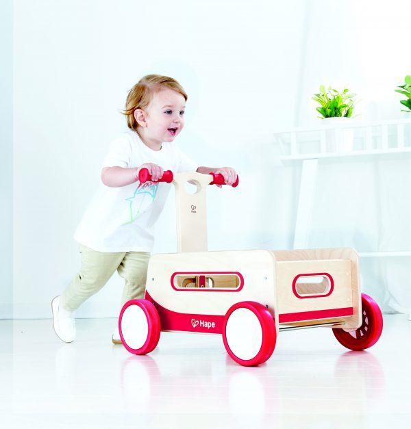 Wonder wagon - loopwagens - dn houten tol - speelgoed - houte speelgoed - boekel - mouthoeve - hape
