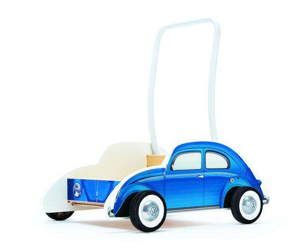 Beetle walker blauw - loopwagen