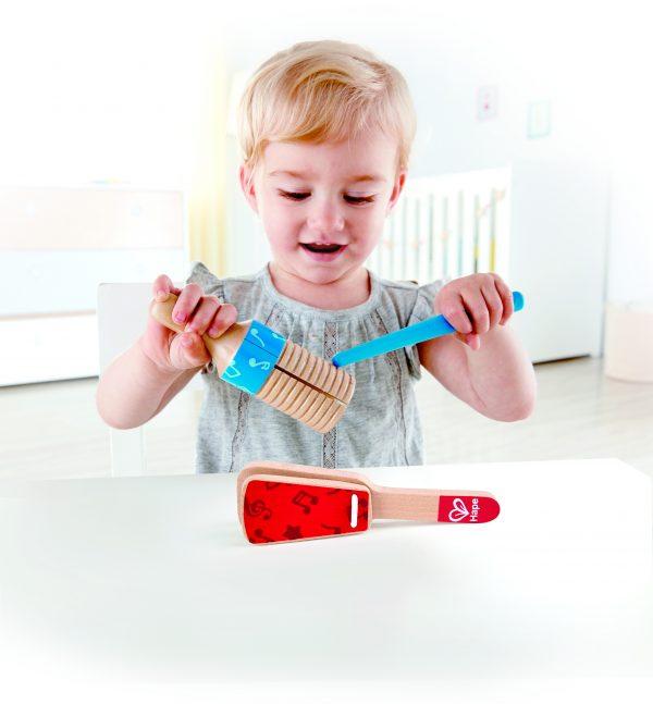 percussie duo - duo - percussie - hout - speelgoed - houten speelgoed - muziek - baby - peuter - dn houten tol - de mouthoeve - boekel - winkel - hape
