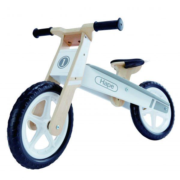 balance walker - loopfiets - hout - speelgoed -buiten speelgoed - houten speelgoed - dn houten tol - de mouthoeve - winkel - hape
