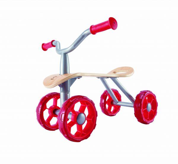 trail rider - red - speelgoed - houtenspeelgoed - hout - dn houten tol - loopwagen - loopfietsen - mouthoeve - boekel - hape