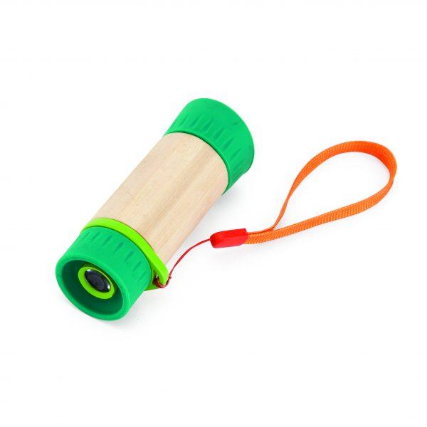 Adjustable telescope - buitenspeelgoed - bamboe - houten speelgoed - speelgoed - winkel - dn houten tol - de mouthoeve - hape