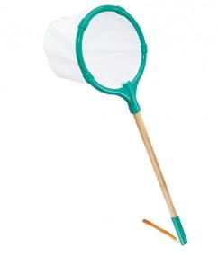 Butterfly net - schepnet - bamboe - buitenspeelgoed - houtenspeelgoed - speelgoed - dn houten tol - de mouthoeve - boekel - winkel - hape