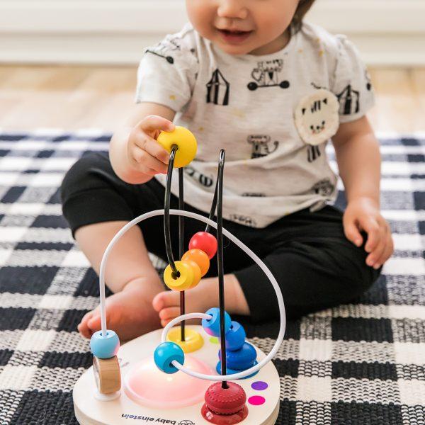 Color mixer - kleuren - kralen - speelgoed - houten speelgoed - educatief - dn houten tol - de mouthoeve - boekel - baby einstein - hape