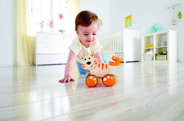 Dante - peuter - kleuter - kat - druk en gaan - hout - houten speelgoed - speelgoed - dn houten tol - de mouthoeve - boekel - winkel - hape
