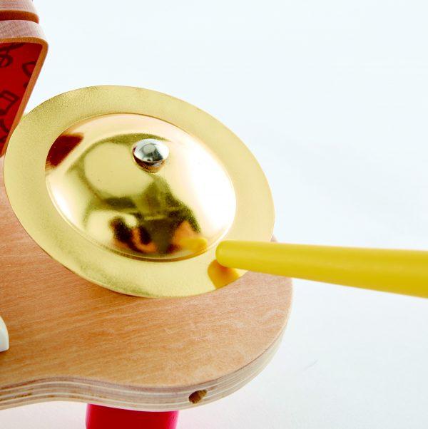 machtige mini band - band - xylofoon - drum - klepper - hout - kunststof - speelgoed - houten speelgoed - de mouthoeve - boekel - winkel - baby - peuter - kleuter - muziek - hape