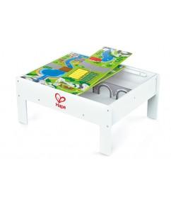 speel en berg tafel - play & stow table - baby - peuter - kleuter - hout - speelgoed - houten speelgoed - dn houten tol - de mouthoeve - boekel - winkel - hape