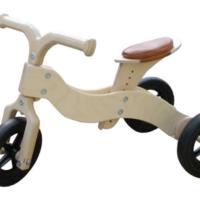 traike - loopfiets - hout - blank - houten trike - van dijk toys - van dijk houten speelgoed - speelgoed - houten speelgoed - peuter - kleuter - dn houten tol - de mouthoeve - boekel