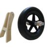 traike - loopfiets - wiel - houten as - hout - blank - houten trike - van dijk toys - van dijk houten speelgoed - speelgoed - houten speelgoed - peuter - kleuter - dn houten tol - de mouthoeve - boekel
