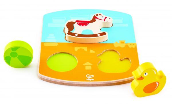 hout- puzzel - speelgoed puzzel - chunky toy puzzle - speelgoed - houten speelgoed - baby - peuter - dn houten tol - de mouthoeve - boekel - winkel - hape