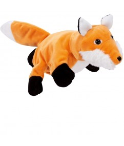 Handpuppet fox - vos - handpop - pluche - speelgoed - houten speelgoed - dn houten tol - de mouthoeve - boekel - winkel - beleduc