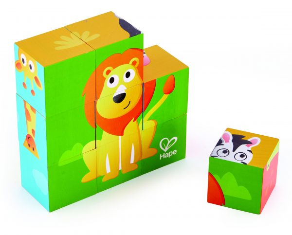 puzzel - lungle blokken puzzel - jungle animal block puzzle - hout - dieren puzzel - speelgoed - houten speelgoed - dn houten tol - de mouthoeve - boekel - hape - peuter - kleuter - e1619