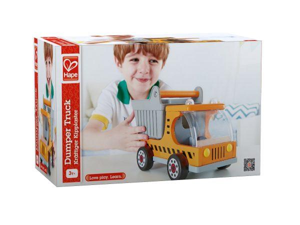 auto's - speelgoed - houten speelgoed - boekel - hout - truck - dn houten tol - de mouthoeve - hape - e3013