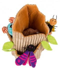 Otis - handpoppen - pluche - houten speelgoed - speelgoed - dn houten tol - de mouthoeve - boekel - beleduc - hape - peuter - kleuter - demente bejaarden - uil - insecten