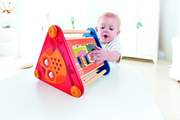 activity box - take along activity box - hape - speelgoed - houten speelgoed - baby - dreumes - dn houten tol - de mouthoeve - boekel - winkel - hape - E0434