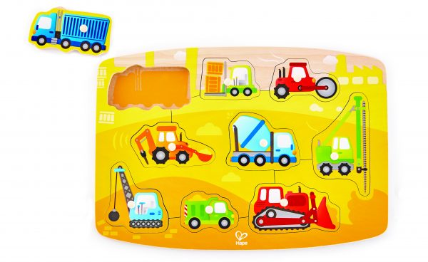 puzzel - constructie puzzel - construction peg puzzle - hout - E1407 - hape - speelgoed - houten speelgoed - dn houten tol - de mouthoeve - boekel - winkel