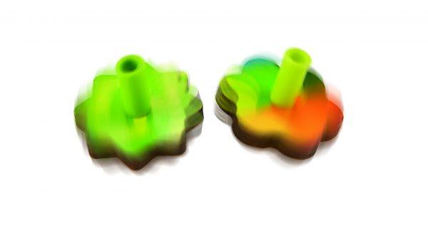 puzzel - tol & ballon puzzel - spinning balloons puzzle - hout - speelgoed - houten speelgoed - dn houten tol - de mouthoeve - boekel - winkel - E1623 - hape - peuter - kleuter - tol - ballonnen