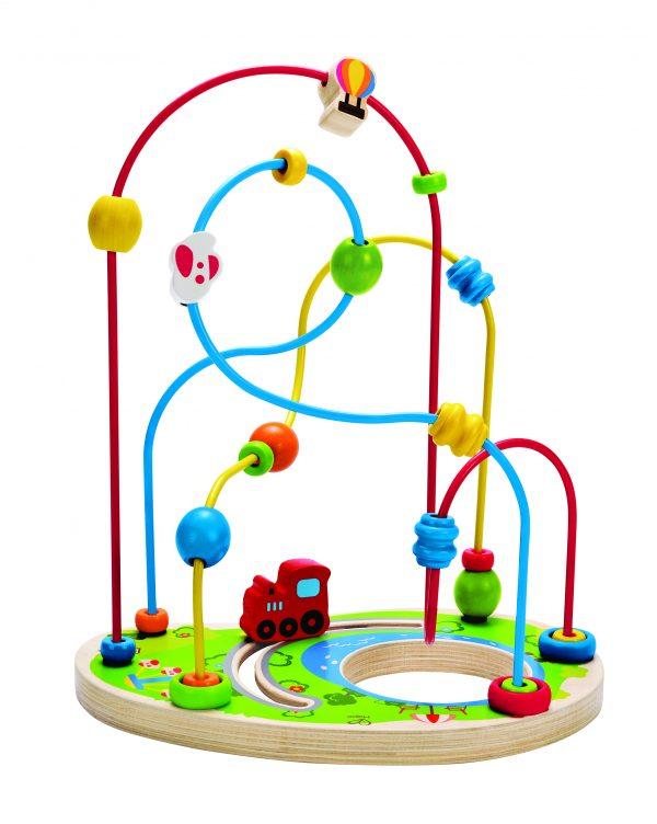 parcours dolhof - playground pizzaz - hape - hout - speelgoed - houten speelgoed - E1811 - dn houten tol - boekel - de mouthoeve - peuter - kleuter -