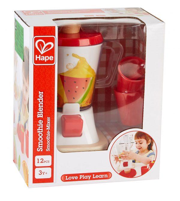 smoothie blender - smoothie - blender - speelgoed - houten speelgoed - kunststof - hout - peuter - kleuter - vanaf 3 jaar - hape - E3158 - dn houten tol - de mouthoeve - boekel - winkel - gezond