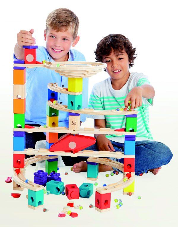 xcellerator knikkerbaan - xcellerator - hout - speelgoed - houten speelgoed - hout - dn houten tol - de mouthoeve - boekel - E6007 - winkel - kleuter - peuter
