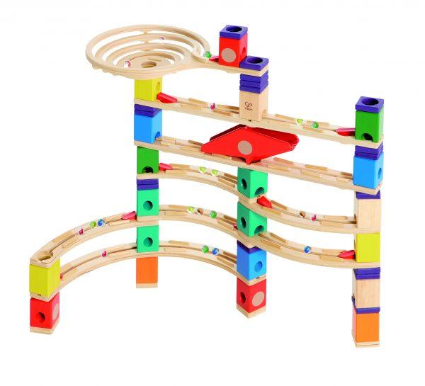 xcellerator knikkerbaan - xcellerator - hout - speelgoed - houten speelgoed - hout - dn houten tol - de mouthoeve - boekel - winkel - kleuter - peuter