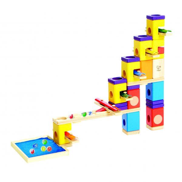 knikkerbaan - music motion - music motion knikkerbaan - hout - speelgoed - houten speelgoed - E6012 - dn houten tol - de mouthoeve - boekel - winkel - hape - kleuter
