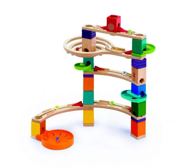 knikkerbaan - cliffhanger - knikkers - speelgoed - houten speelgoed - kinder speelgoed - E6020 - hape - dn houten tol - de mouthoeve - boekel - winkel - kinderen - child