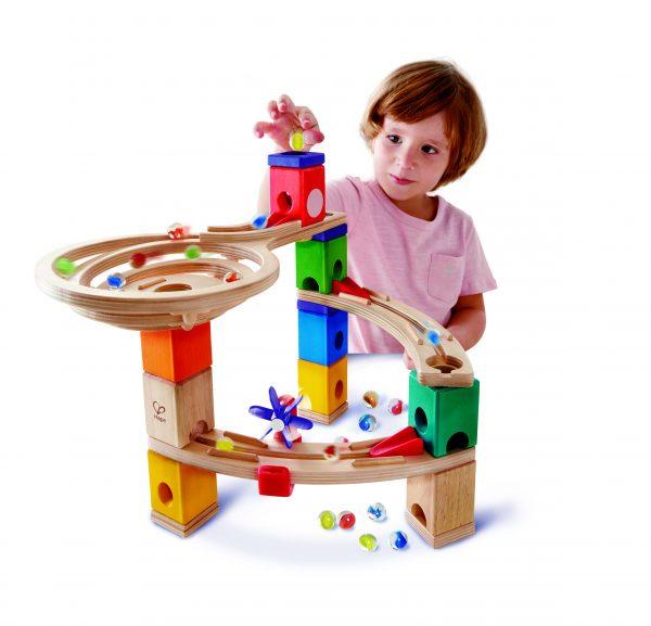 knikkerbaan - knikkers - basis kknikkerbaan - race to the finish - speelgoed - houten speelgoed - kinder speelgoed - hape - E6021 - dn houten tol - de mouthoeve - boekel - kinderen - child - winkel