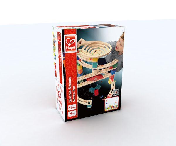 knikkers - knikkerbaan - marble racers - hape - E6035 - speelgoed - houten speelgoed - kinder speelgoed - kleuter - vanaf 4 jaar - kinderen - child - dn houten tol - de mouthoeve - boekel - winkel