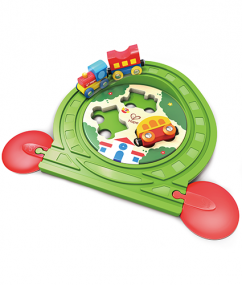 trein - houten trein - treinbaan puzzel - train track puzzle - hout - kunststof - hape - E3819 - speelgoed - houten speelgoed - dreumes - peuter - dn houten tol - de mouthoeve - boekel - winkel