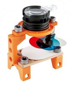 Optische Wetenschapslab - optical science lab - hout - kunststof - kleuter - vanaf 5+ - speelgoed - houten speelgoed - experimenten - dn houten tol - de mouthoeve - boekel - winkel - E3034 - hape