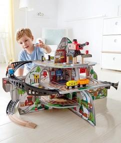 treinen - mega bergmijn - Mega Mountain Mine - hape - speelgoed - hout - houten speelgoed - kleuter - peuter - dn houten tol - de mouthoeve - boekel - E3754 - winkel