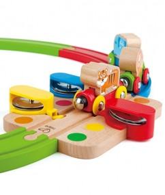 trein - houten trein - regenboog puzzel trein - rainbow puzzle reailway - dreumes - peuter - hape - speelgoed - houten speelgoed - E3826 - dn houten tol - de mouthoeve - boekel - winkel