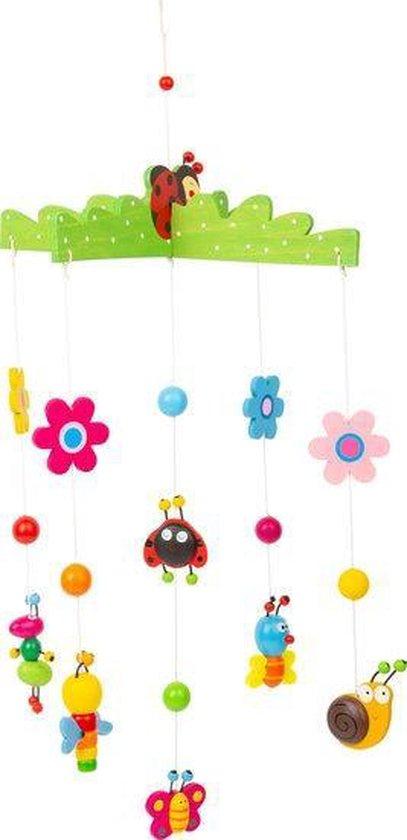 lente mobiel - houten mobiel - hout - mobielen - speelgoed - houten speelgoed - decoratie - decoratie slaapkamer - kinderkamer - small foot - dn houten tol - de mouthoeve - boekel