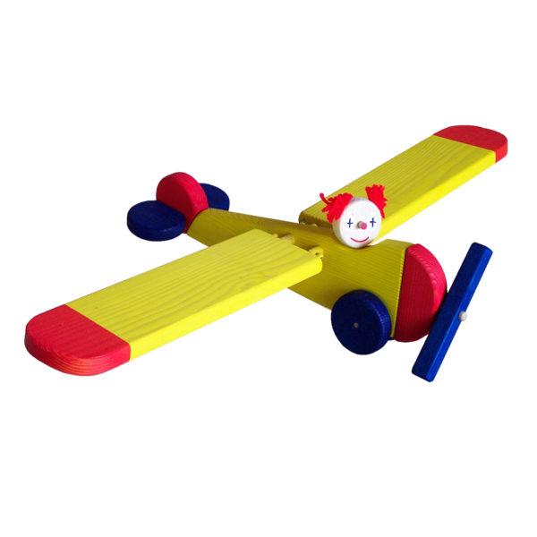 mobielen - vliegtuig - vliegend figuur vliegtuig - hout - speelgoed - houten speelgoed - verjaardagscadeau - dn houten tol - de mouthoeve - boekel - 741029 - vandijktoys