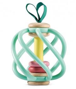 appel grijper - apple grab toy - baby speelgoed - houten speelgoed - speelgoed - hape - E8500 - dn houten tol - de mouthoeve - boekel - speelgoedwinkel