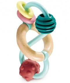 speelgoed - baby speelgoed - houten speelgoed - baby - dn houten tol - de mouthoeve - boekel - hape - E8501
