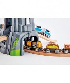 licht en geluid berg tunnel - light and sound moutain tunnelset - tunnel - speelgoed berg - speelgoed tunnel - hape - speelgoed - houten speelgoed - E3739 - trein - treinen - dn houten tol - de mouthoeve - boekel - speelgoedwinkel