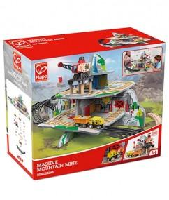 hape - speelgoed - houten speelgoed - massive mountain mine - bergmijn - trein - treinen - houten treinen - speelgoed trein - winkelen - boekel - dn houten tol - de mouthoeve - E3755