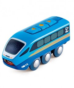 trein - treinen -speelgoed trein - kunststof trein - speelgoed - houten speelgoed - blauwe trein - dn houten tol - de mouthoeve - boekel - speelgoedwinkel - hape - E3726 - remote control train