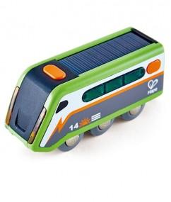 trein - treinen - kunststof trein - trein op zonne energie - speelgoed trein - speelgoed - houten speelgoed - dn houten tol - de mouthoeve - boekel - winkels- winkelen- hape - Solar powered train - E3760