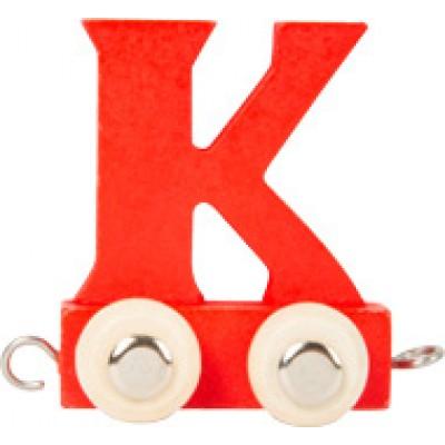 houten locomotief - lettertrein - letters - houten letters - blank houtenlettertrein - gekleurde houten lettertrein - speelgoed - houten speelgoed - kraamcadeau - dn houten tol - winkel - shop - de mouthoeve - small foot - locomotief - wagon - houten letter wagon - lettertrein locomotief