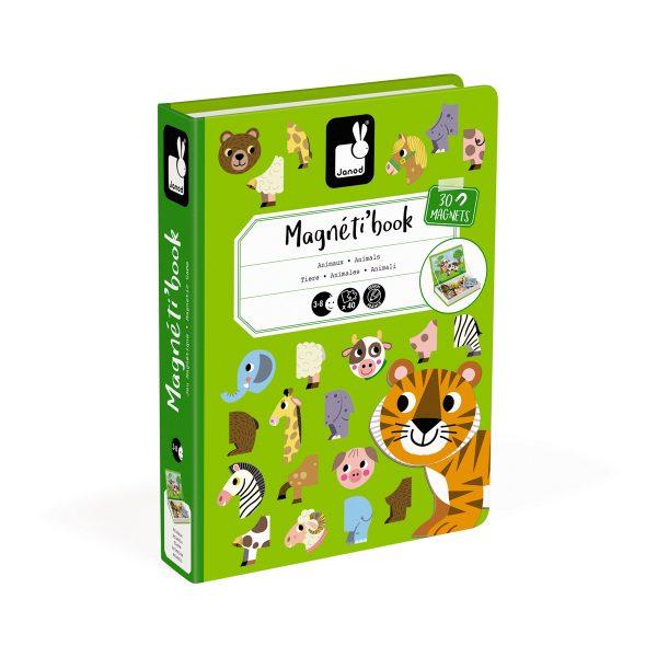 magneetboek - magnetibook - dieren- janod - webshop - magneten - educatief speelgoed - speelgoed - houten speelgoed - dn houten tol - de mouthoeve - boekel